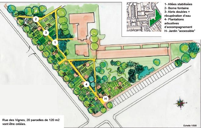 Ville de cr teil jardins familiaux for Le jardin 21 rue de la federation