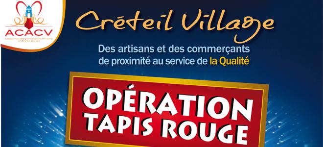 Ville de cr teil op ration tapis rouge for Chambre de commerce creteil